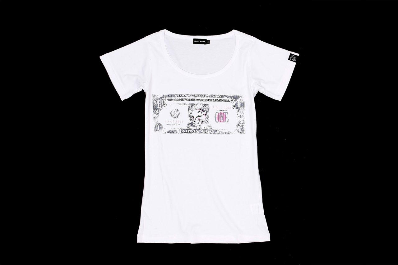 Bill design t shirt ladies army girl official site for T shirt design no minimum