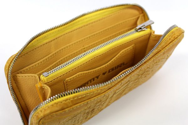 CROCODILE & PYTHON COMBINATION WALLET