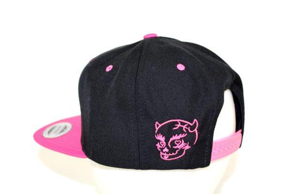 NO.002 FLAT VISOR PINK CAP