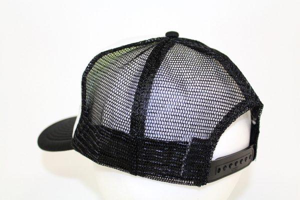 NO.003 MESH BLACK/WHITE CAP