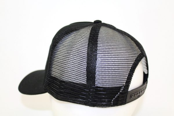 NO.004 MESH BLACK CAP