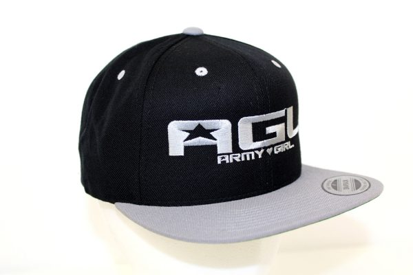 NO.001 FLAT VISOR GRAY CAP