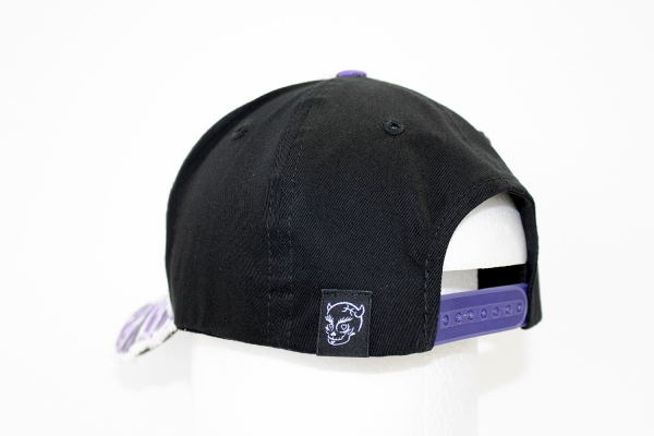 NO.014 CAMOUFLAGE PURPLE/BLACK CAP